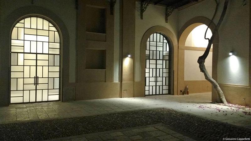 faretti Artemide per illuminare Palazzo Butera Palermo