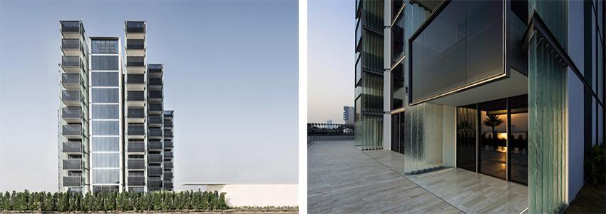 panoramica ed ingresso del Muraba Luxury Residence