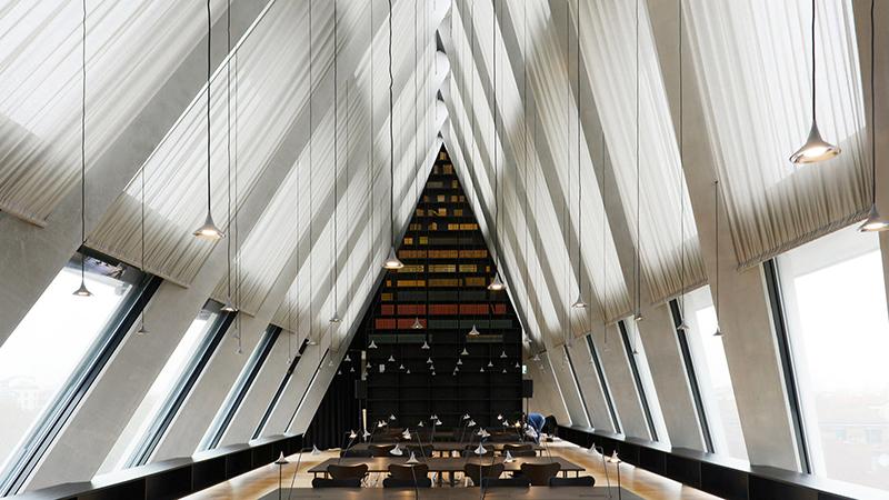 reading room Feltrinelli Foundation of Milan