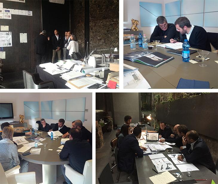 Muraba Luxury , riunione tecnica tra  TRJ e  RCR Arquitectes
