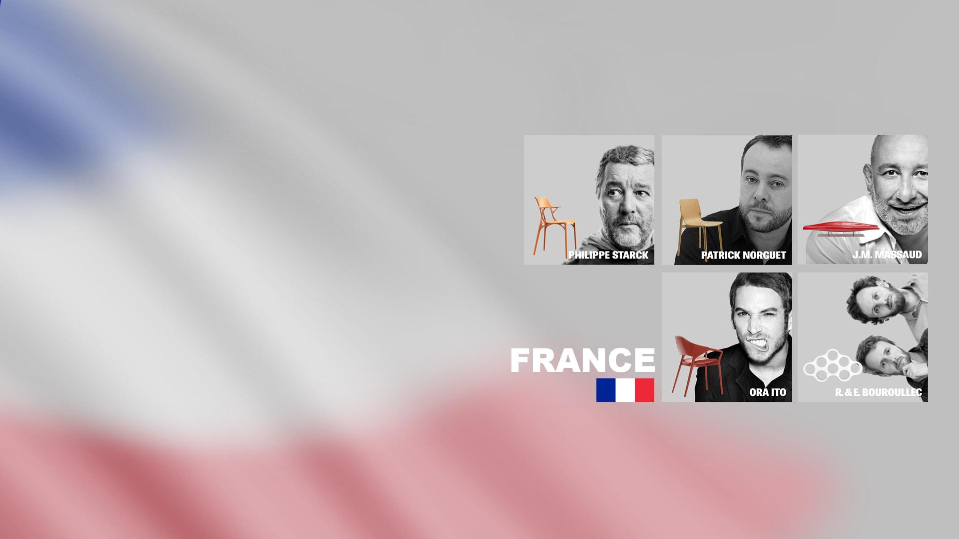 I designer francesi raccontati da TRJ per l'architettura